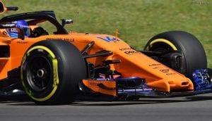 Morro del McLaren de Alonso: MCL33 #14