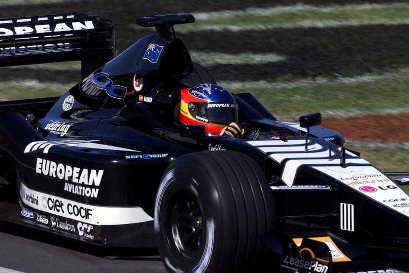 ALonso con el Minardi