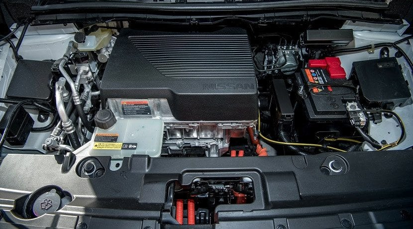 Motor eléctrico de Nissan. Cómo funciona un coche eléctrico.