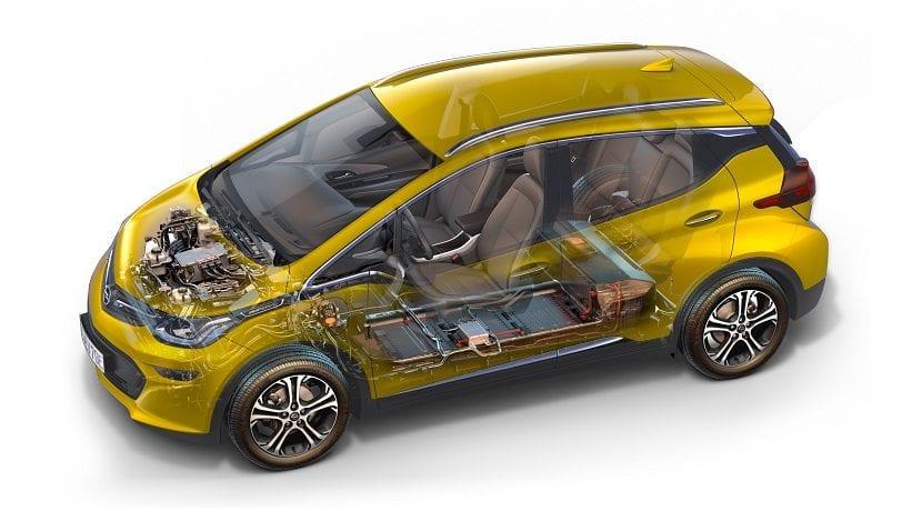 Opel Ampera-e. Cómo funciona un coche eléctrico