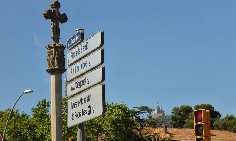En Pedralbes (Barcelona) también hay varios sitios sin zona verde o azul