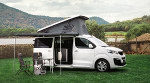 Peugeot Traveller by Tinkervan Camper