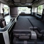 Peugeot Traveller by Tinkervan Camper cama