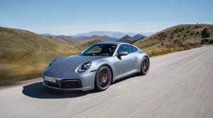 Porsche 911 992 Carrera S perfil delantero