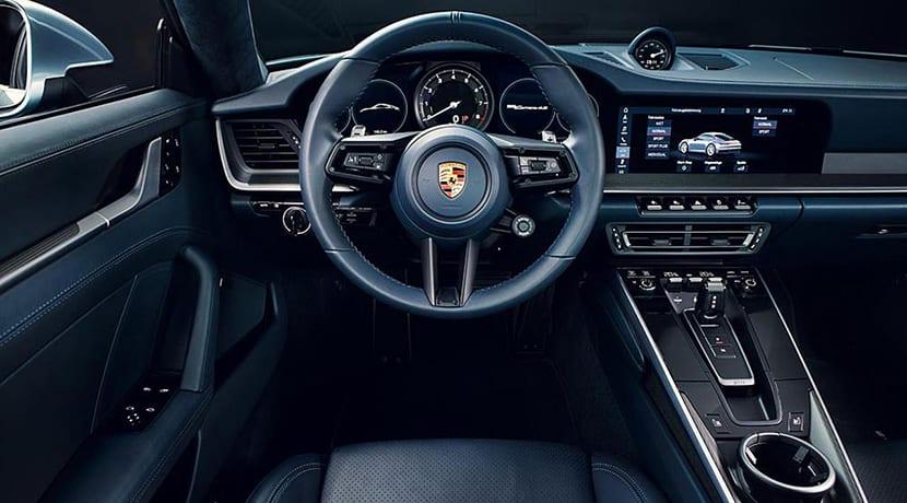 Porsche 911 992 Carrera S diseño interior