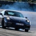Porsche 911 en desarrollo drift