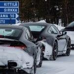 Porsche 911 en desarrollo nieve
