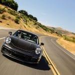Porsche 911 en desarrollo en carretera