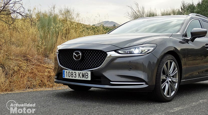 Mazda6 nuevo frontal