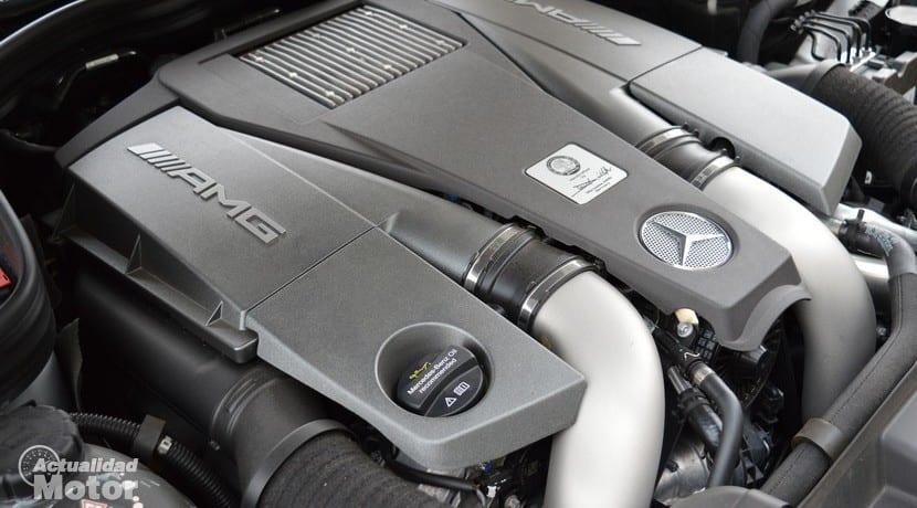 Prueba Mercedes CLS 63 AMG motor