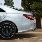 Prueba Mercedes CLS 63 AMG perfil