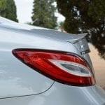 Prueba Mercedes CLS 63 AMG aleron