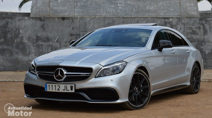 Prueba Mercedes CLS 63 AMG perfil delantero
