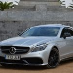 Prueba Mercedes CLS 63 AMG lateral