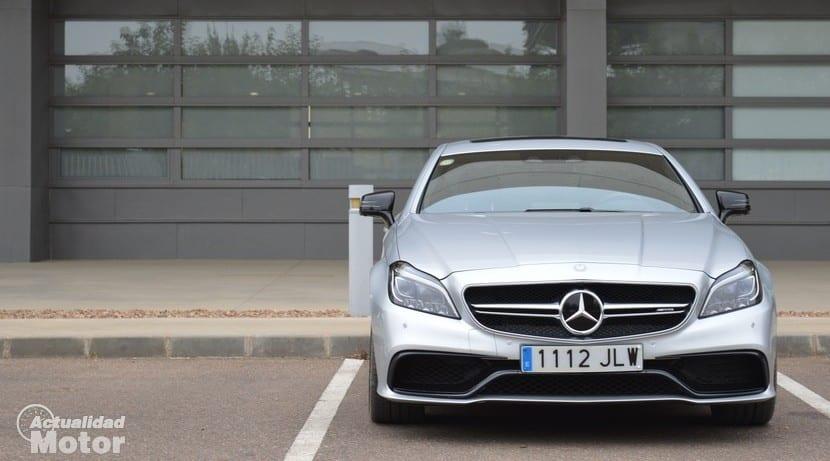 Prueba Mercedes CLS 63 AMG frontal
