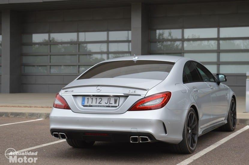 Prueba Mercedes CLS 63 AMG trasera