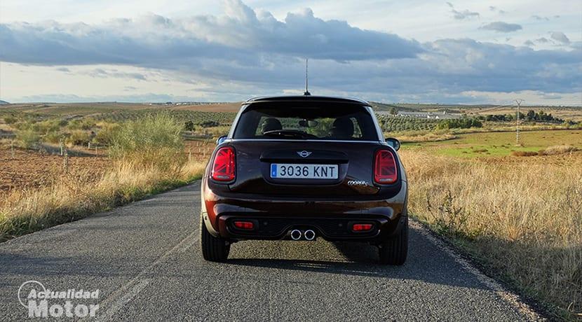 Prueba MINI Cooper S 3 puertas trasera