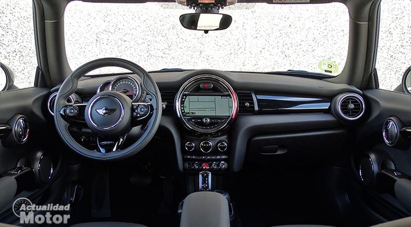 Prueba MINI Cooper S 3 puertas diseño interior