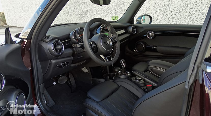 Plazas delanteras MINI Cooper S 3 puertas