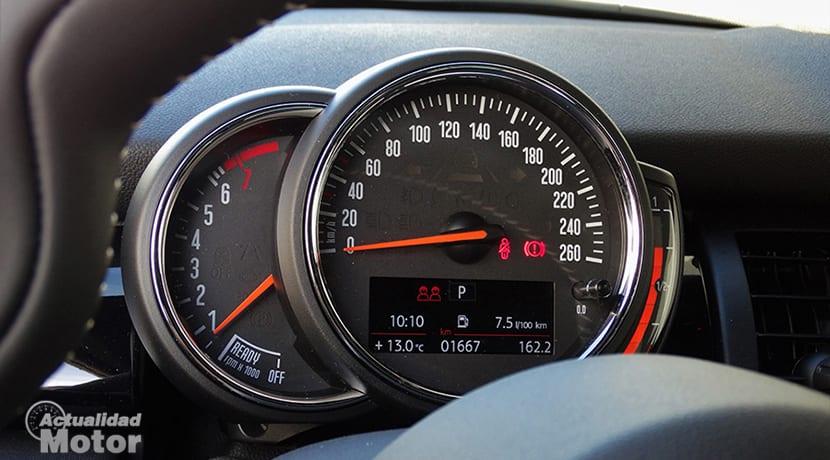 Prueba consumos MINI Cooper S