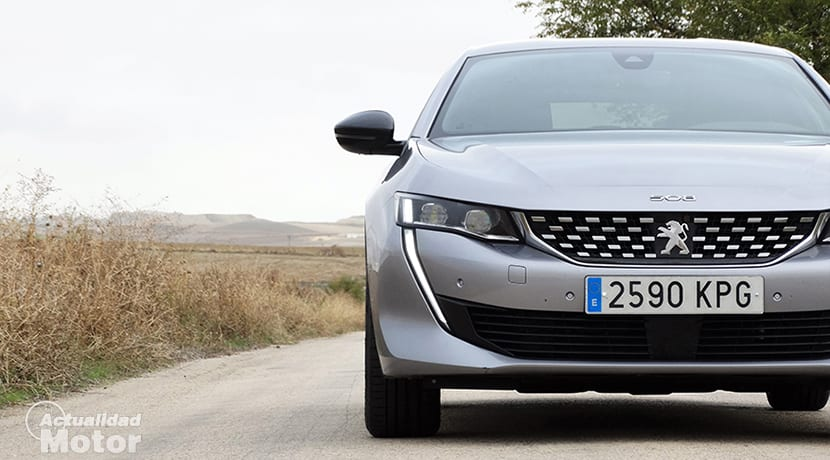 Prueba Peugeot 508 frontal