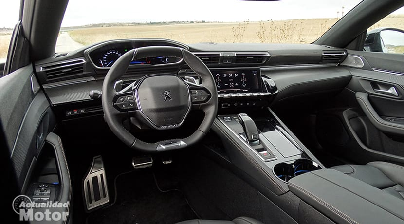 Prueba Peugeot 508 interior