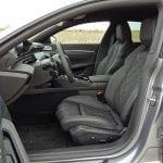 Prueba Peugeot 508 plazas delanteras