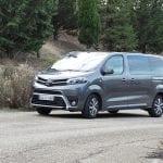 Prueba Toyota Proace Verso 180D perfil delantero