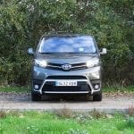 Prueba Toyota Proace Verso 180D frontal