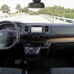 Prueba Toyota Proace Verso 180D diseño interior