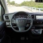 Prueba Toyota Proace Verso 180D puesto conducción