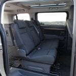 Prueba Toyota Proace Verso 180D segunda fila de asientos