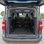 Prueba Toyota Proace Verso 180D capacidad de carga utilizando solo dos plazas