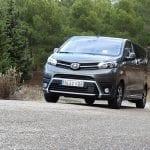Prueba Toyota Proace Verso 180D delantera