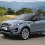Range Rover Evoque perfil delantero
