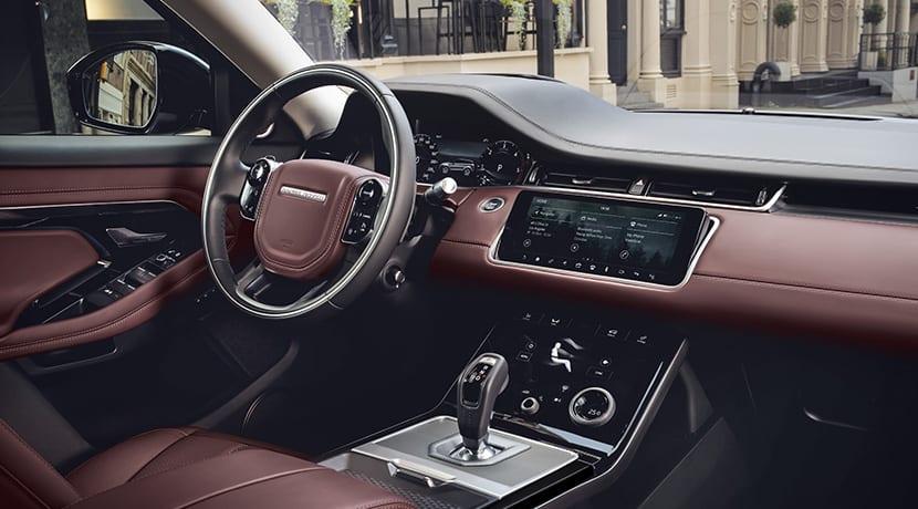 Range Rover Evoque diseño interior