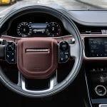 Range Rover Evoque volante
