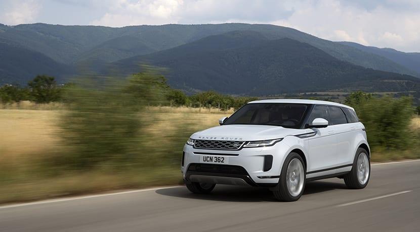 Range Rover Evoque dinámica