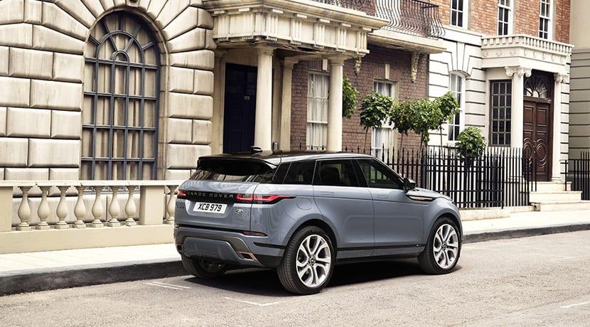 Range Rover Evoque perfil trasero