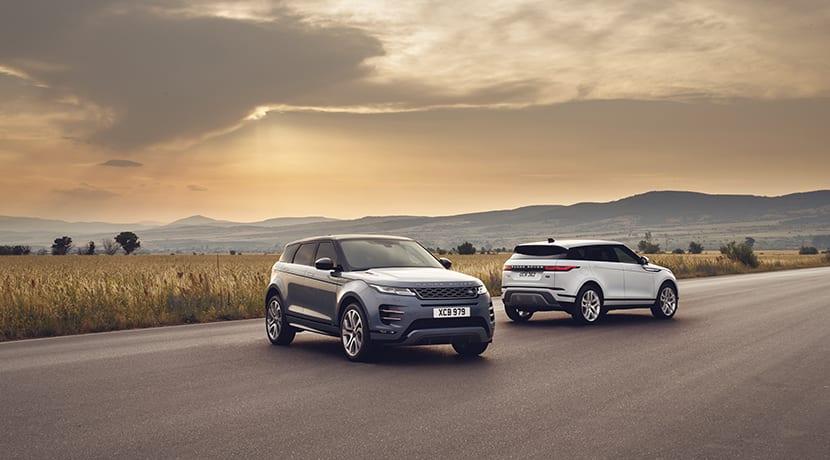 Range Rover Evoque estática