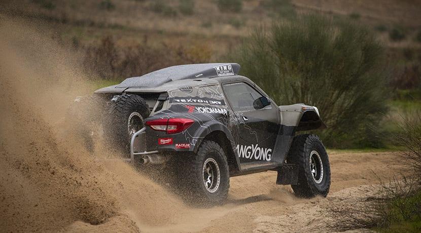 SsangYong Rexton DKR Dakar 2019