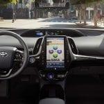 Nueva pantalla central del Toyota Prius 2019
