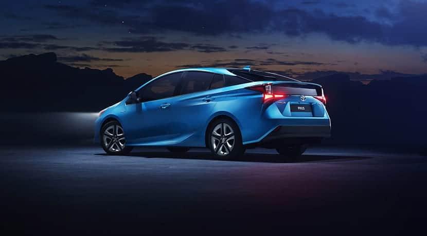Toyota Prius 2019 perfil trasero