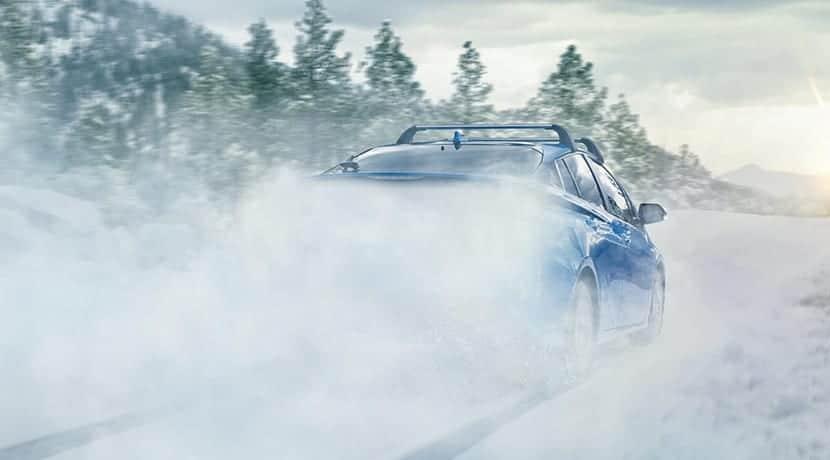 Teaser del Toyota Prius 2019 en la nieve