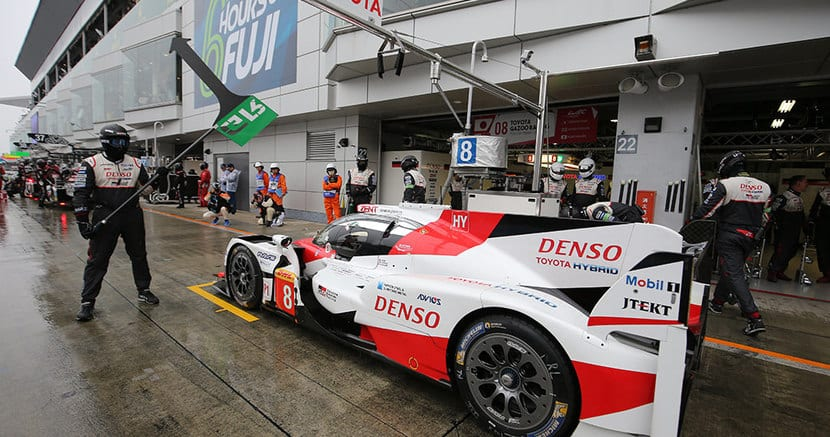 Toyota TS050 en el Box