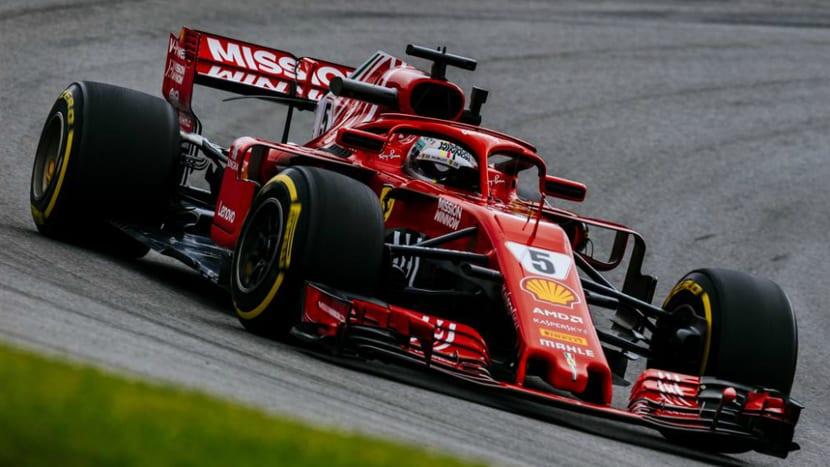 Vettel en Brasil 2018