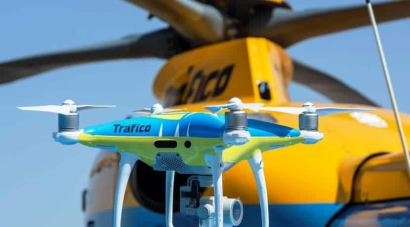 Drone de la DGT