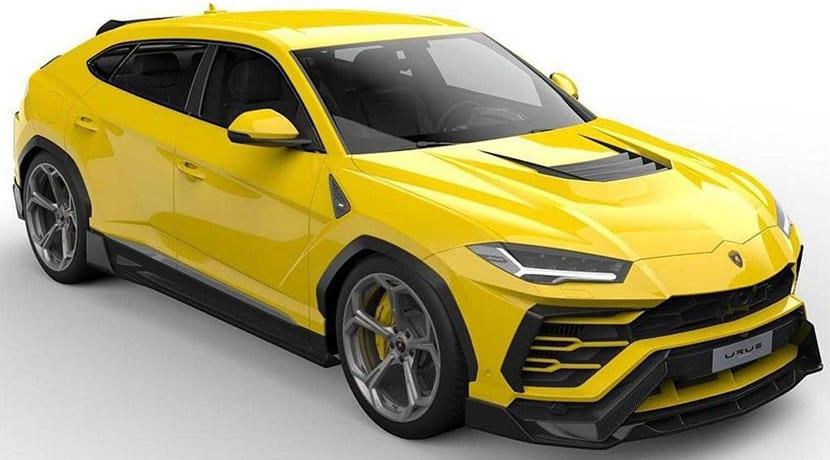 Lamborghini Urus Vorsteiner UX-07