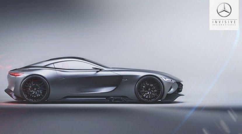 Mercedes SLR Vision Concept