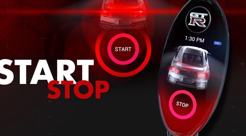 Nissan GTR Llave Concepto